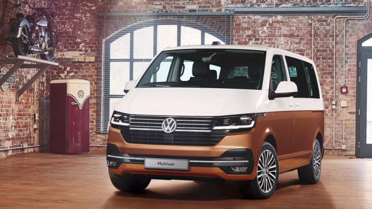 Volkswagen Bulli Multivan 6.1 – facelift optic și tehnic