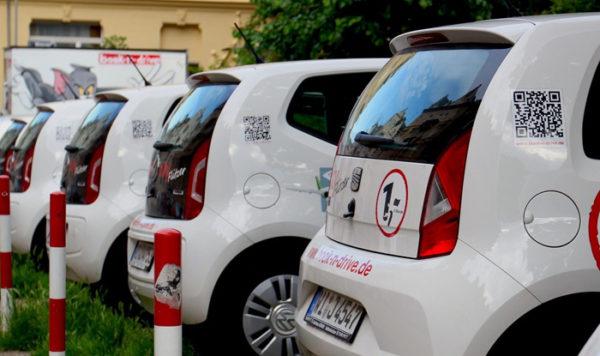 car sharing VW up!