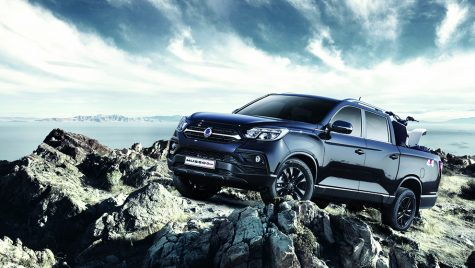 SsangYong Musso Grand Pick-Up: informații și imagini oficiale