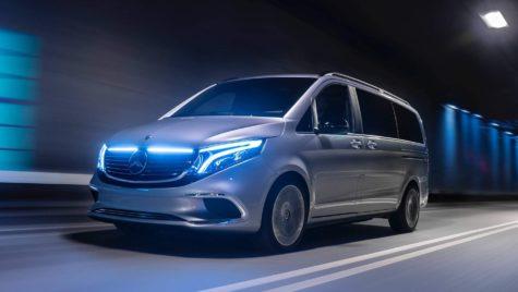 Geneva 2019: Conceptul Mercedes-Benz EQV – Primul MPV electric al lumii