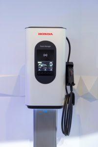 Stație încărcare Honda - electrificare