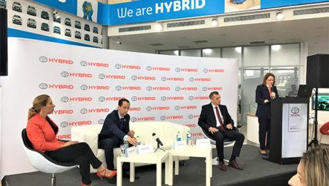 Toyota a lansat șase noi modele hibrid în România!