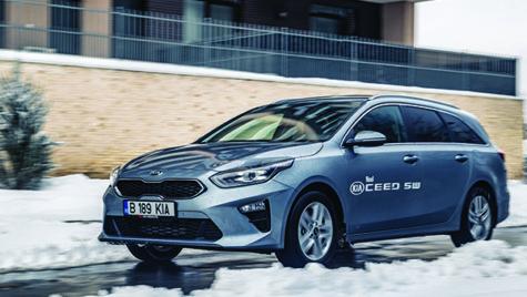 Test Kia Ceed Sportswagon 1.4 T-GDI 7DCT Star