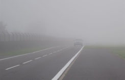 Cum a rămas în ceaţă Drumul Expres dintre Autostrada A3 şi aeroport