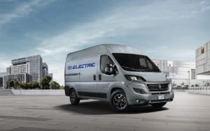 Noul Fiat Ducato Electric