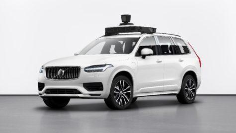 Volvo Cars şi Uber prezintă prima maşină pregătită pentru deplasare autonomă