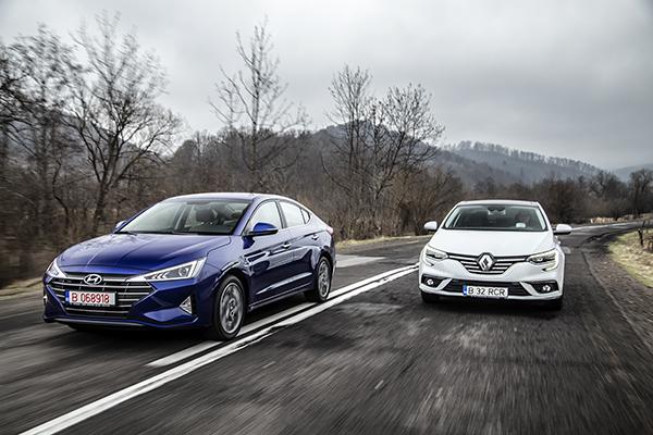 Hyundai Elantra vs Renault Megane Sedan