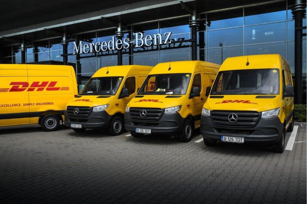 Mercedes-Benz Sprinter - DHL Express Romania