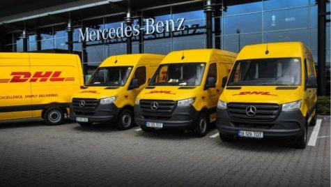 118 unități Sprinter pentru flota DHL Express România