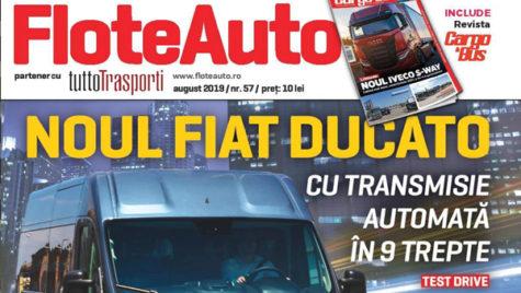 A apărut revista Flote Auto, iulie – august 2019