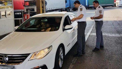 La vămile cu Bulgaria s-a introdus controlul maşinii