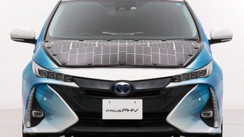 Toyota Prius solar, cu celule fotovoltaice
