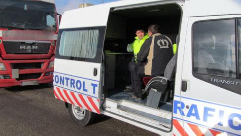 Creşte numărul vehiculelor speciale pentru controlul în trafic