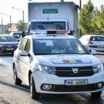 800 de sancţiuni în 2 zile pentru autoturisme înmatriculate în alte state