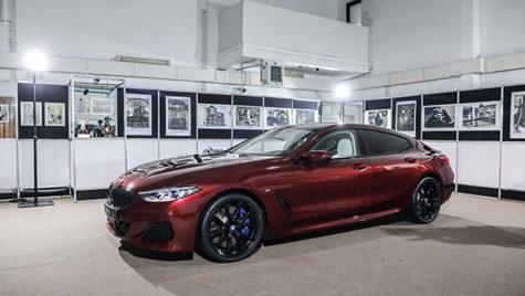BMW Seria 8 Gran Coupe în haine de gală