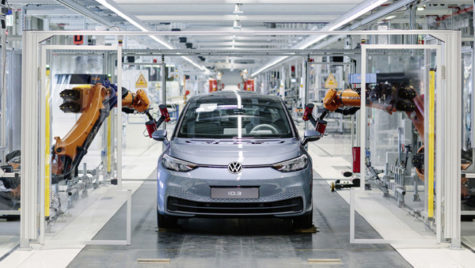 VW începe producţia de masă a modelului electric ID.3