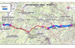Autostrada Sibiu – Piteşti. Harta traseului