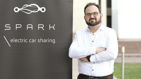 Serviciul de e-car sharing Spark a dezvoltat o componentă pentru companii