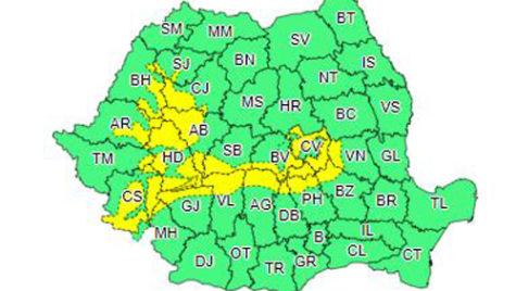 Cod galben de viscol la munte între 23 – 25 decembrie