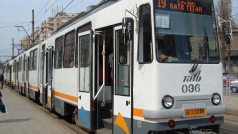 Culoar unic şi pentru tramvaiele 19, 23 şi 27 pe B-dul Camil Ressu