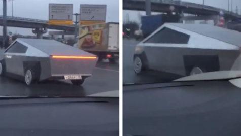 Tesla Cybertruck în variantă… rusească!