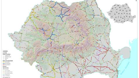 Hărţi interactive cu situaţia drumurilor şi autostrăzilor, pe site-ul CNAIR