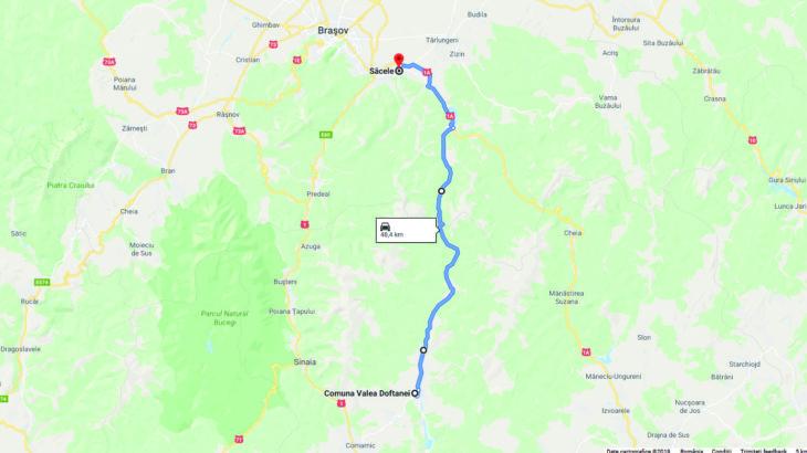 De la Câmpina la Brașov într-o oră: două viitoare alternative la DN1