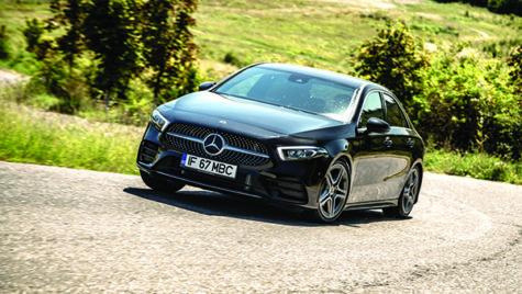 Test drive Mercedes-Benz A 180 d 7G-DCT Sedan