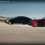 Drako GTE snopește Tesla Model S P100D (Video)