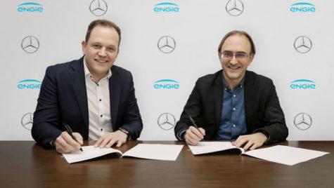 Engie şi Mercedez-Benz, parteneri  pentru promovarea mobilităţii electrice