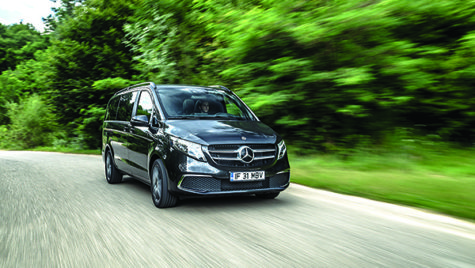 Test drive Mercedes-Benz V 300 d 4Matic Exclusive