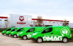 eMag începe livrarea coletelor cu vehicule electrice