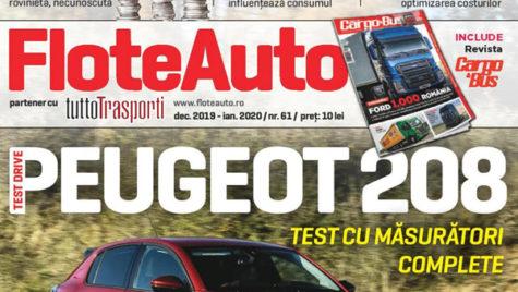 A apărut revista Flote Auto, ianuarie 2020