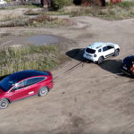Dacia Duster vs Tesla Model X vs Hummer H1 – video!