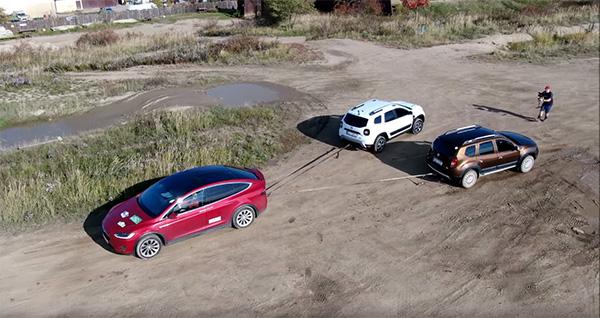 Dacia Duster vs Tesla Model X