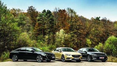 Test comparativ Opel Insignia vs Peugeot 508 vs Volkswagen Passat