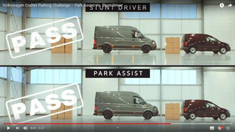 Cum parchezi o utilitară?