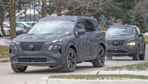Viitorul Nissan X-Trail: faruri bumerang și platformă CMF?
