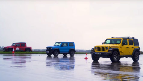 Video: Jeep Wrangler vs Suzuki Jimny vs Bowler Bulldog