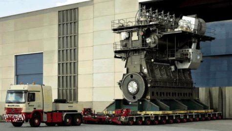 Cel mai puternic diesel din lume produce 109.000 CP!