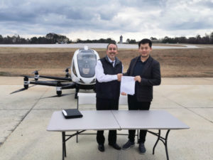 Drone cu pasageri EHang 216 (2)
