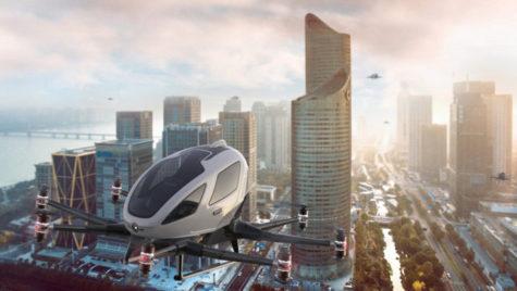 Drone cu pasageri: încep primele teste în Europa