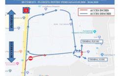 Schiţă detaliată privind accesul către Aeroportul Internaţional Henri Coandă