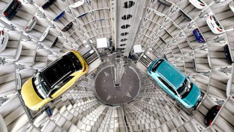 Autostadt și garajele supraetajate Volkswagen