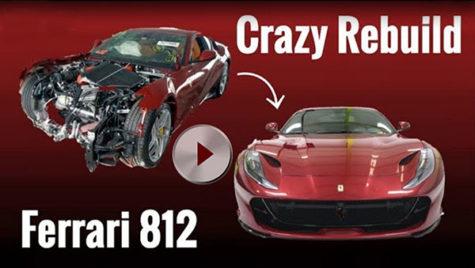 Video: cum se restaurează un Ferrari 812 Superfast