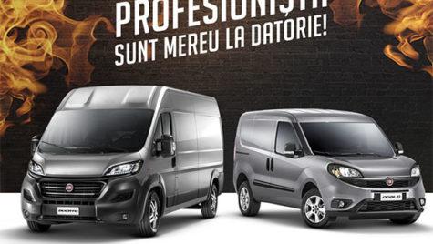 Fiat Professional amânare rate cu 12 luni
