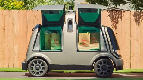 Livrări cu vehicule autonome: Nuro