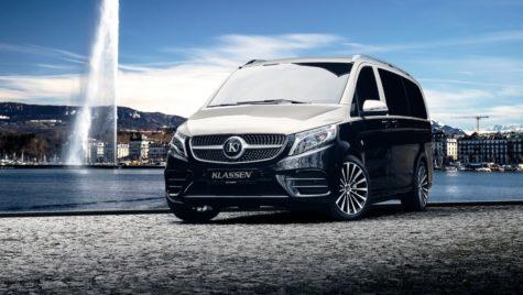 Mercedes-Benz V 300 d 4Matic by Klassen: artă sau kitsch?