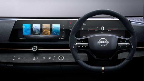 Viitoarele interioare Nissan vor renunța la butoane?