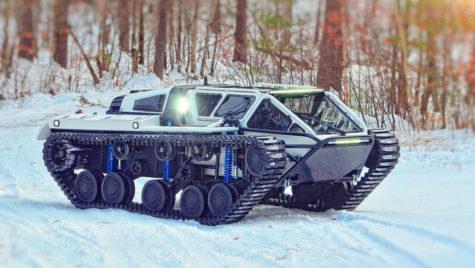 "Ripsaw EV2 și EV3 – tancul ""civil"""